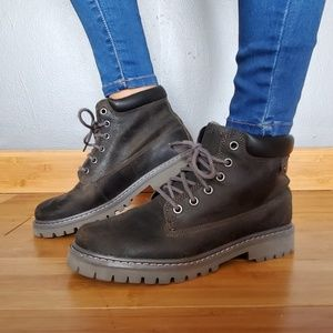 Skechers Grey Boots